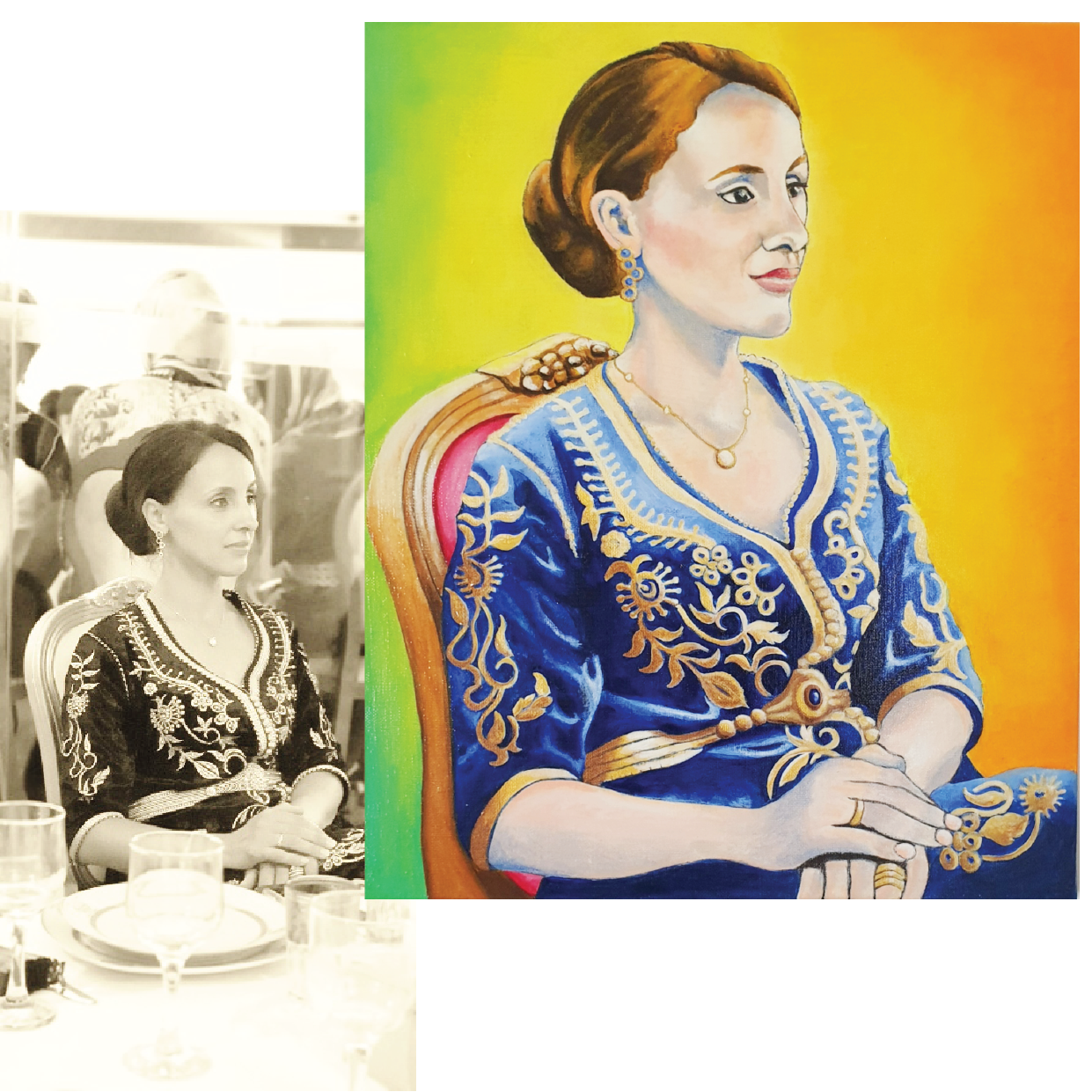 Fatima avant/après